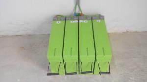 Baterias de electrodo gelificado.